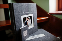 Elegant Grey Photo Book Or Pho...