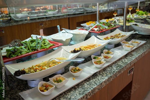 Foto op Aluminium Buffet, Bar Concept of food All-inclusive buffet-style in Turkey