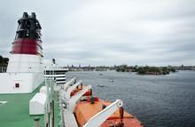 Ferry Viking Line Chimney. Jun...