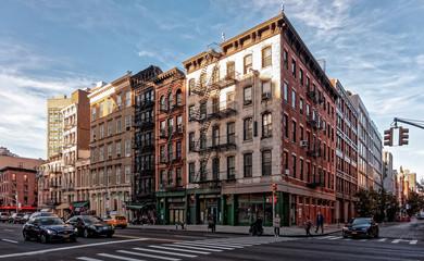 Fototapeta Coin de Rue Nolita, NY