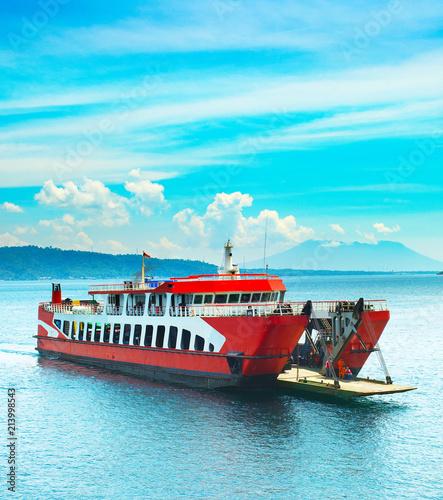 Fotografija Bali Java ferry boat, Indonesia