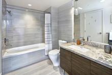 Modern Stylish Condo Bathroom ...