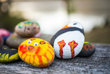 Childrens' Painted Rocks