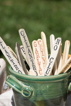 Handmade Wooden Plant Stakes I...