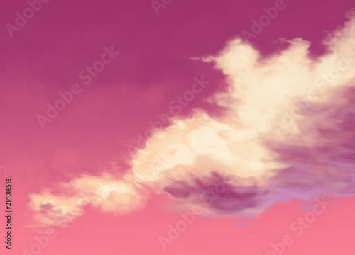 Obraz Cloud - fototapety do salonu