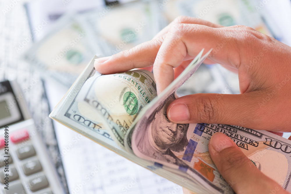 Close Up Woman Hands Holding And