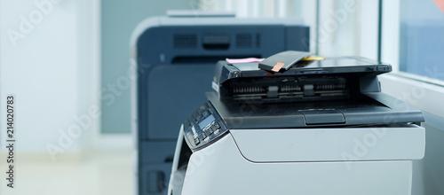Printer scanner or laser copy machine in office Fototapet
