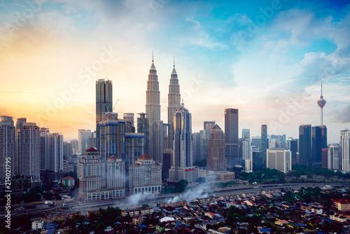 Wall Murals Kuala Lumpur Kuala Lumpur skyline