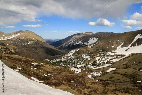 Keuken foto achterwand Verenigde Staten Alpine ski resort Winter Park in Rocky mountains park, USA