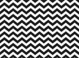 Zwykły czarno-biały wzór zygzakowaty szewron, bez szwu zygzakowata tekstura tło abstrakcyjna geometria - 214034937