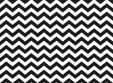 Regular Black And White Zigzag...