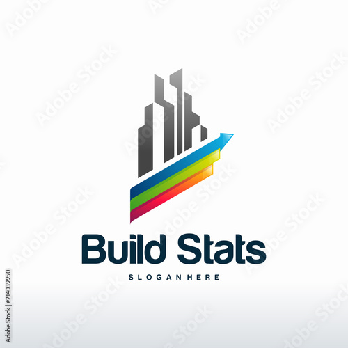 Asset Stats Logo Designs Vector Building Logo Designs Vector Buy