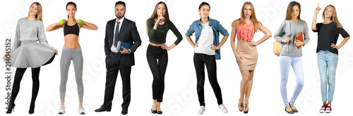 Fotografía  Group of full body people