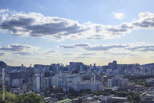 Photo  Scenery of Seoul in clear sky.
