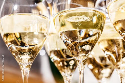 Champagner Glas (Sekt) Tableau sur Toile