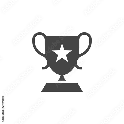 Photo Cup trophy glyph icon