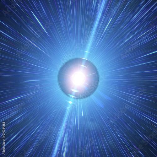 Valokuva Long Gamma-Ray Burst Of A Neutron Star