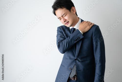 Foto ビジネスマン、肩こり