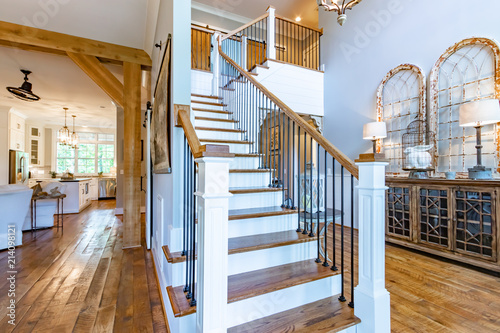 Photo Stands Stairs Designer Southern Home