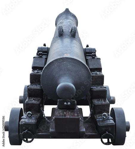 Fotografia Old cannon artillery battle antique weapon