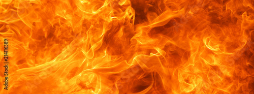 Obraz abstract blaze fire flame texture background - fototapety do salonu