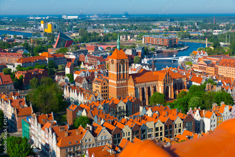 Fototapety, obrazy: Krajobraz Gdańska