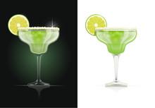 Margarita Glass. Alcohol Cockt...