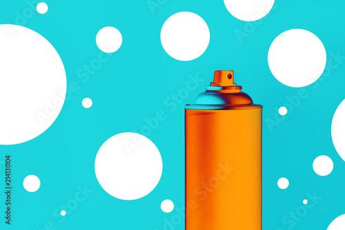 Color spray can for graffiti artwork © Bits and Splits