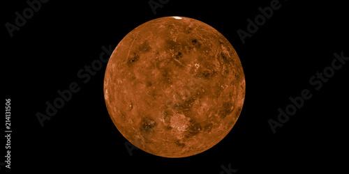 Deurstickers Nasa Venus planet solar system