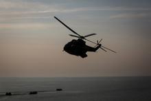 SA 330 Puma Military Helicopter