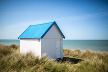 Colorful Wooden Beach Cabins I...