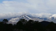 Clouds Over San Francisco Peaks