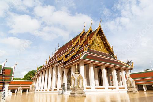 Deurstickers Bedehuis Wat Saket Ratcha Wora Maha Wihan, Temple