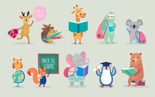 Back To School Animals Hand Dr...