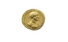 Hadrian Emperor Gold Coin