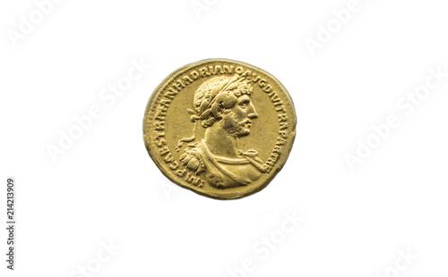 Valokuva Hadrian Emperor gold coin