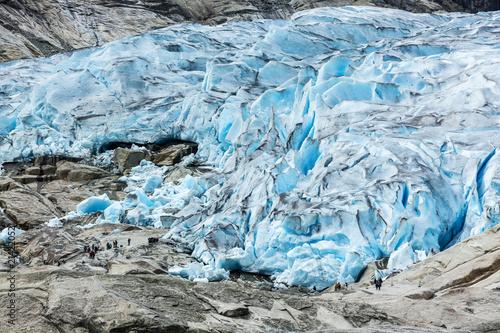 Staande foto Gletsjers Gletscherzunge