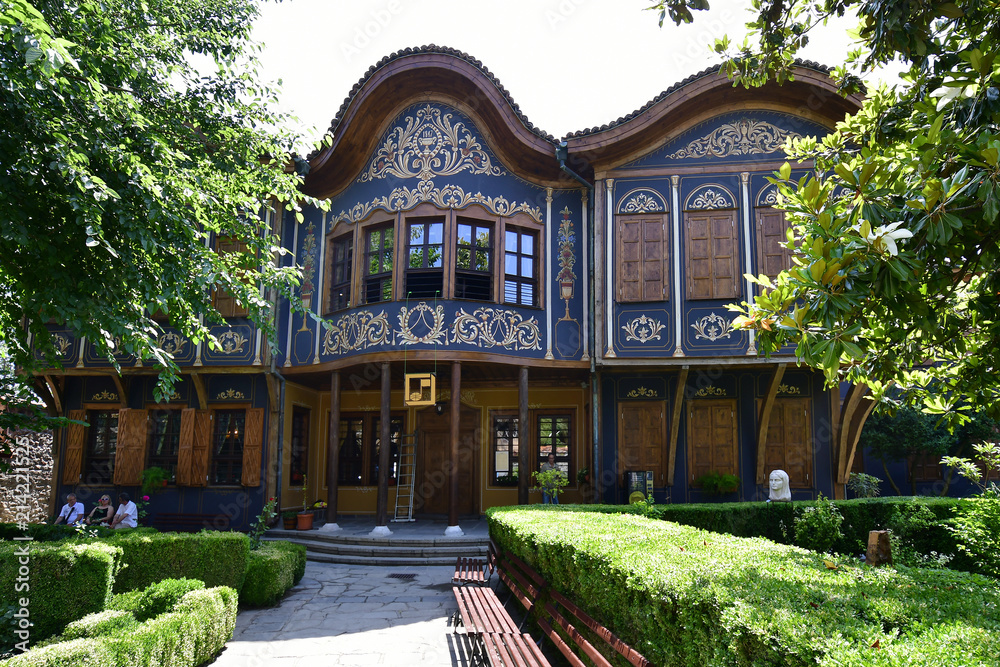 Fototapety, obrazy: Bulgaria, Old Town Plovdiv