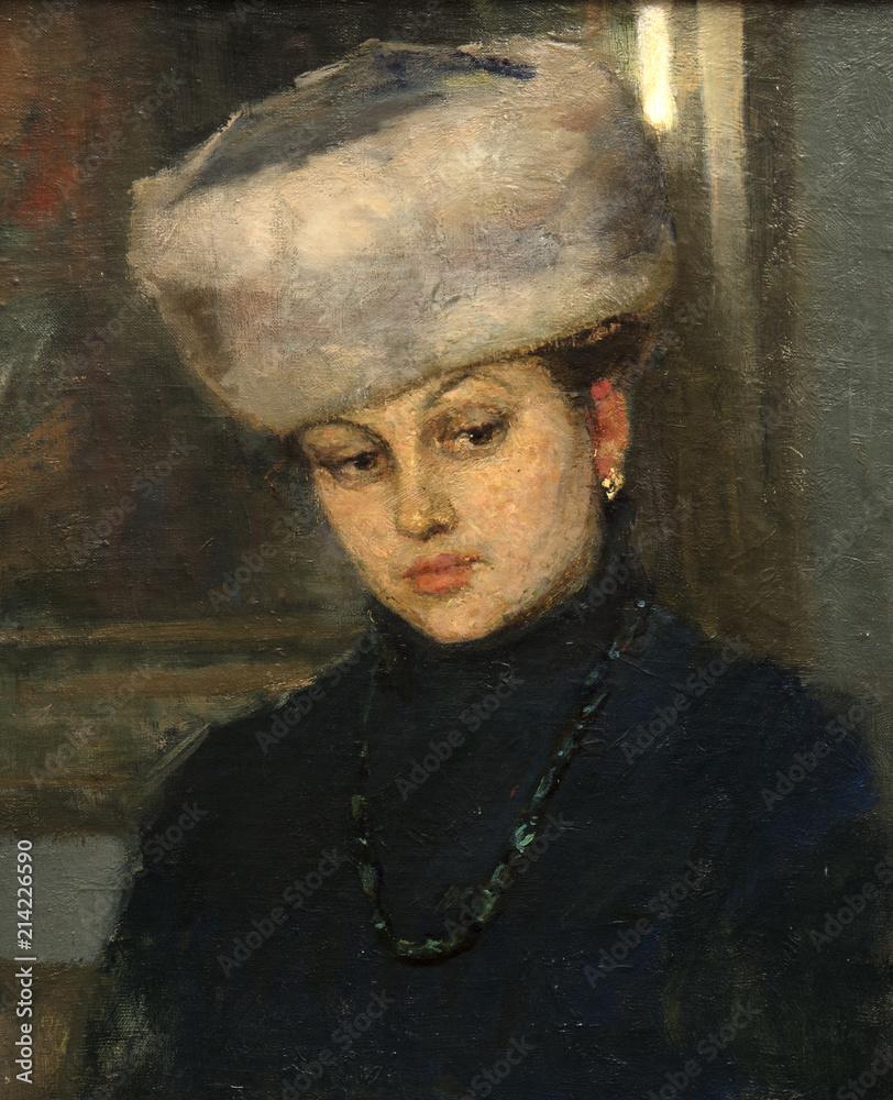 oil painting, portrait