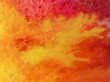 Watercolor abstract bright colorful textural background handmade . Painting of fire . Shine