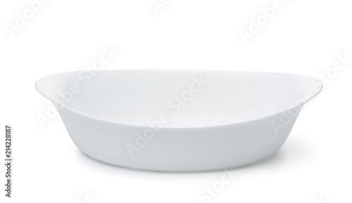 Photo Empty ceramic baking dish