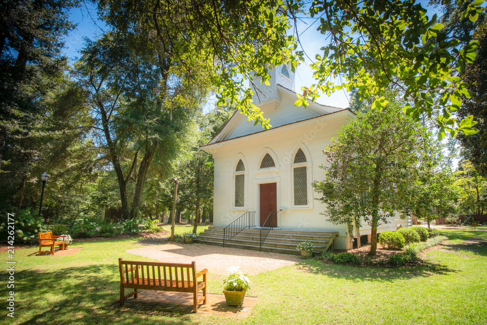 Fototapety, obrazy: Little White Wedding Chapel