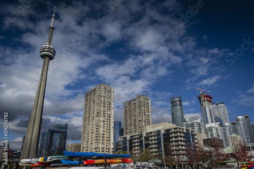 Fotografia  View at downtown Toronto