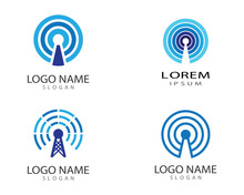 Wireless Symbol Illustration Design