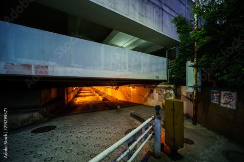 Fotografie, Obraz  高輪橋架道橋