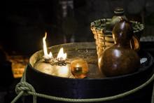 Altar For Satanic Rituals