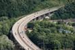 Motorway bridge in germany