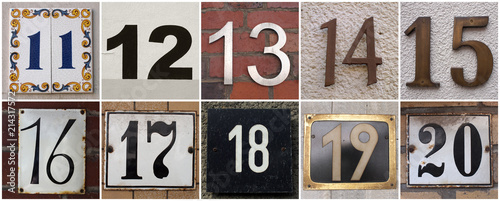 Photo  numbers 11 to 20