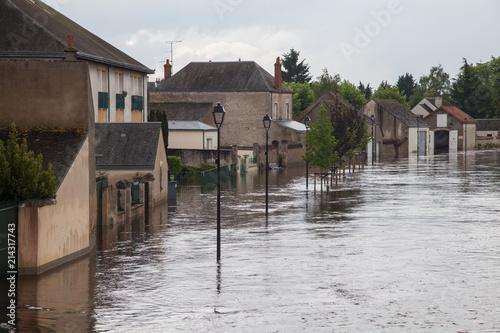 Inondation Fototapet