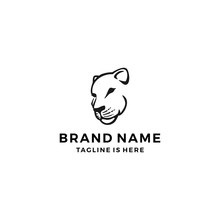 Lioness Logo Template Vector I...